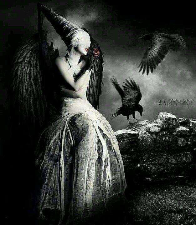 dark horror gothic angel - photo #14