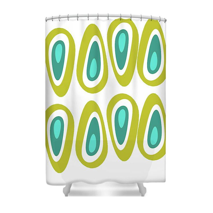 Modern Shower Curtain, Mod Shower Curtain, Mid Century Modern Shower Curtain, Geometric Shower Curtain, Retro Shower Curtain,Mid Century by crashpaddesigns on Etsy https://www.etsy.com/listing/455413380/modern-shower-curtain-mod-shower-curtain