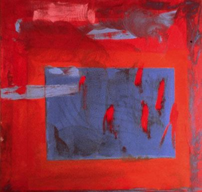 Homage to David Smith Artist: Pat Lipsky Completion Date: 1980 Style: Abstract Expressionism Genre: abstract