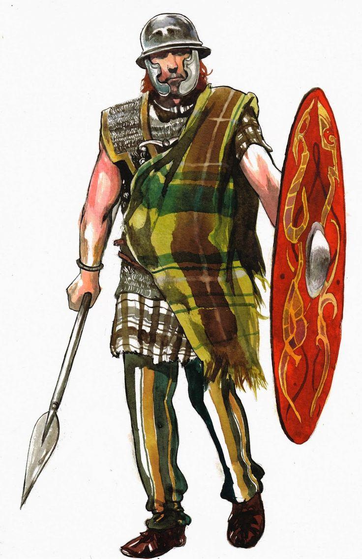 La guerre des Gaules: Guerrier et légionnaire // Warrior and Legionary
