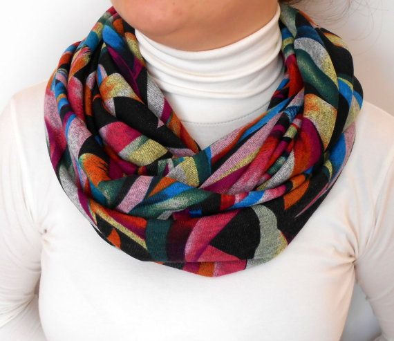 Mixed color100 Cotton Combed FabricElegant by DaIsyLoopScarf, $18.00