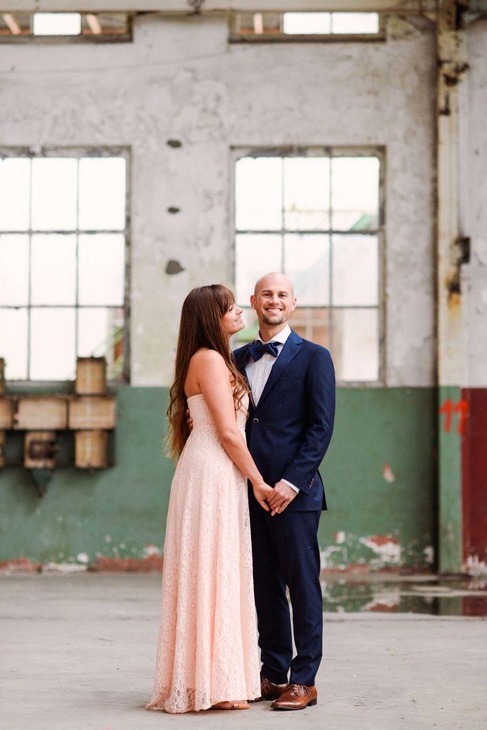 Spontane Loveshoot Fotografie Industrieel ENKA fabriek