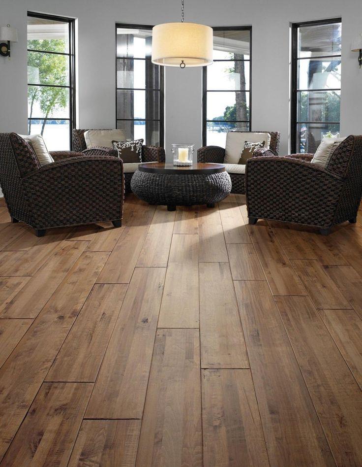 hardwood flooring staining ambiance salon parquet et couloir. Black Bedroom Furniture Sets. Home Design Ideas