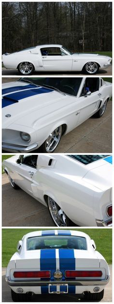 Different Design Of Ford Mustang Shelby - Muscle Car Heaven