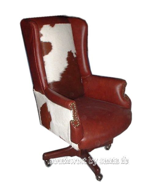 Billy The Kid Hide Southwestern Office Chair