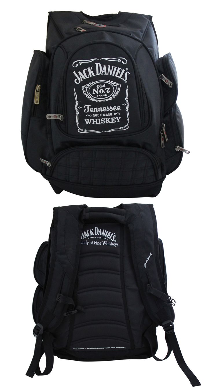 Backpack exclusively manufactured for Jack Daniels by Crea - India's smartest brand merchandising company.