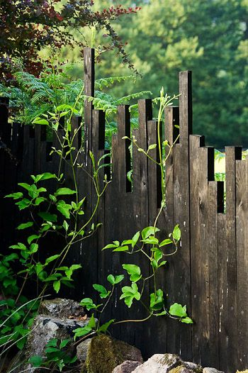 Unique Fence Idea..