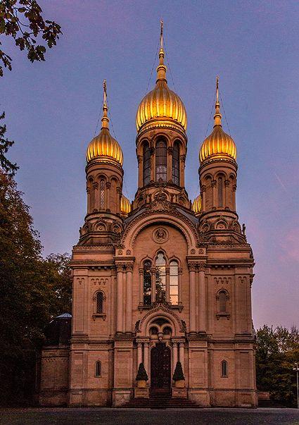 Russische Kapelle in Wiesbaden