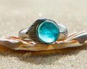 NEW Mako Mermaid Ring Sterling Silver 925. $60.00, via Etsy.