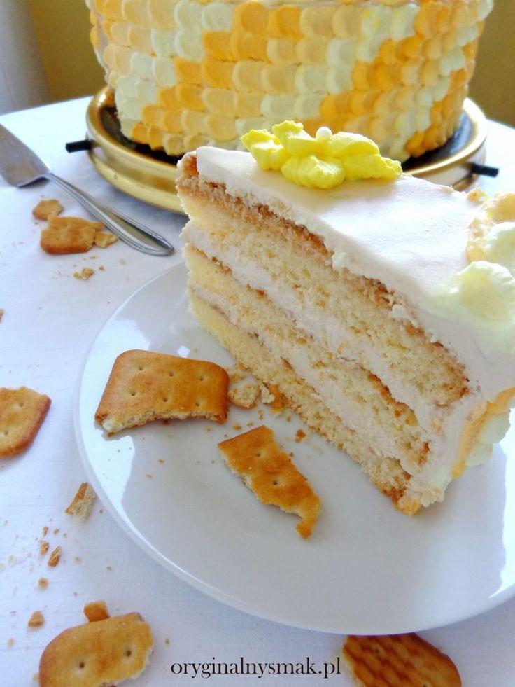 Tort kajmakowy z krakersami  | Oryginalny smak