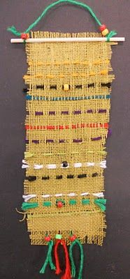 Weaving and much, much more!  Great art blog!