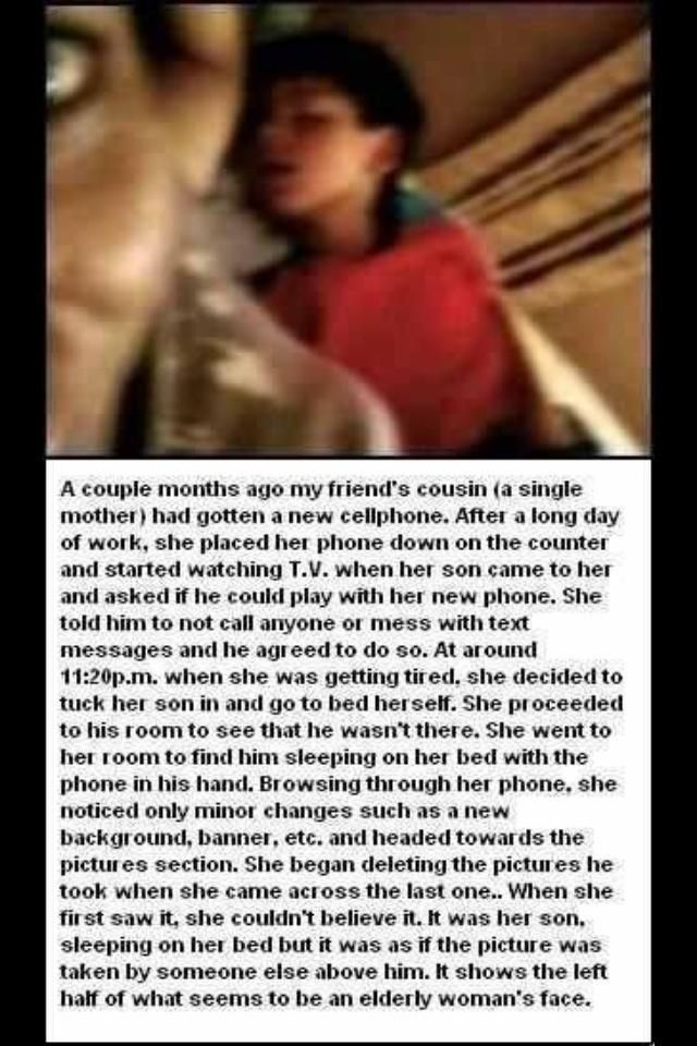 Twitter / JosephTheFlyGuy: OMG this gave me the fuckin ...doubt this is real but creepy story for you all!