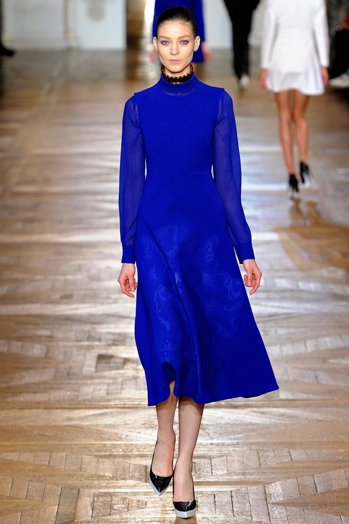 Model: Kati Nescher. Stella McCartney, F/W 2012/13 RTW.