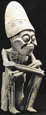 """Mictlantecuhtli ( from the Nahuatl 'Lord of the underworld', derived from tecuh-tli """"sir"""" and Mictlan """"place of the Dead"""") is the Aztec, Zapotec, and Mixtec god of the underworld and the dead."""