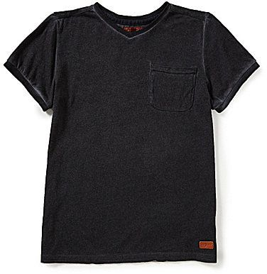 7 for all mankind 7 For All Mankind Big Boys 8-20 Mineral Wash Short-Sleeve Tee