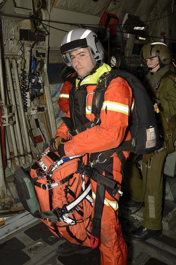 Master Corporal Fern Bianco, a search and rescue (SAR