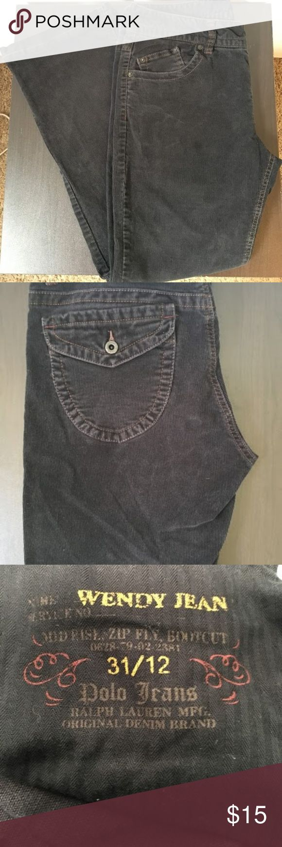 "Polo Ralph Lauren ""Wendy"" Cords Mid Bootcut Women's Polo Jeans by Ralph Lauren Wendy Jean Mid Rise Zip Fly Bootcut size 12 by 32  Cords.  Inseam measures 28   If you have any questions feel free to contact me at any time. I am always more than happy to help.  I have several other items for sale as well so be sure to check them out Polo by Ralph Lauren Pants Boot Cut & Flare"