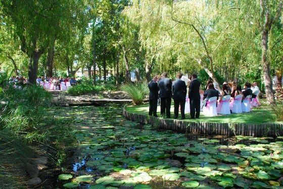 Nooitgedacht outdoor ceremony