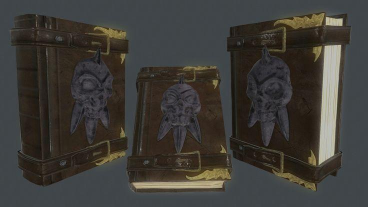 Book skull
