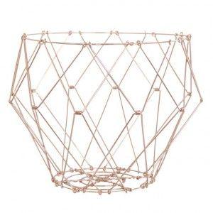IKHAYA Copper Basket -  Expandable copper basket. Available at sourced4you.com.au PART OF IKHAYA RANGE. (30$/35$/40$)