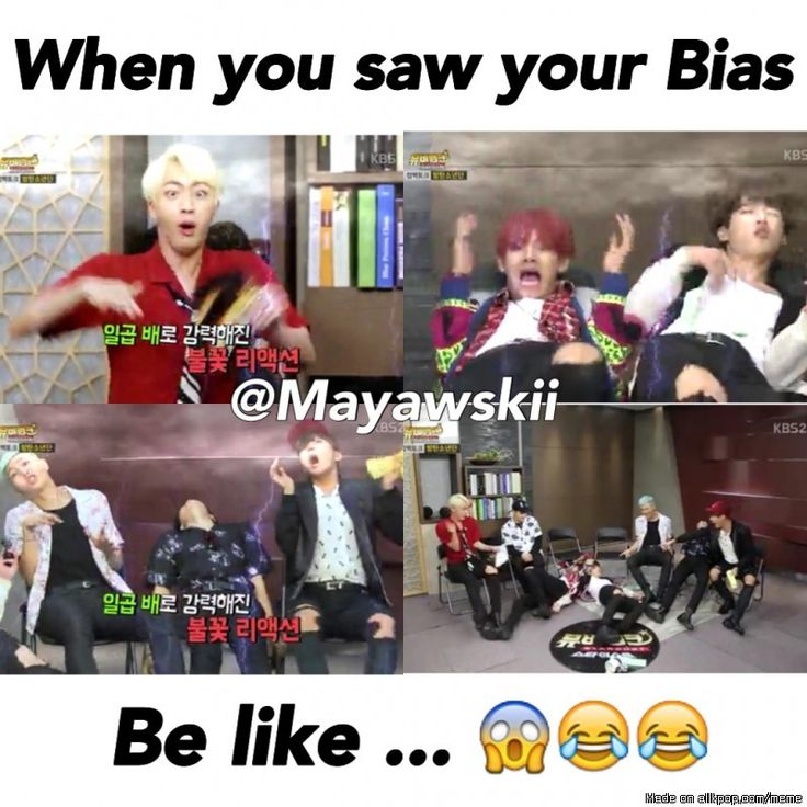 My literal reaction seeing BTS<< Le feels of an ARMY