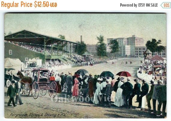20% OFF Dayton Ohio Fairgrounds Racetrack & by OakwoodView on Etsy