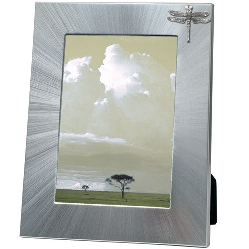 Dragonfly 5x7 Photo Frame | Heritage Pewter