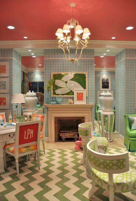 Playroom/Den/Homework space for girls