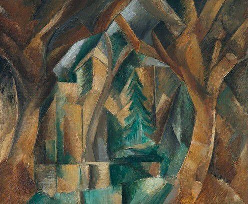 Paysage des carrières Saint-Denis , 1909 41 × 33 cm musée national d'art moderne, Paris54.