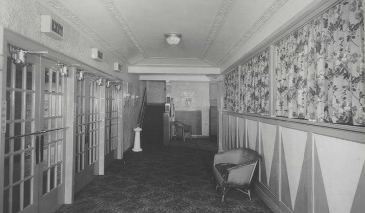 This is what the old lobby looked like in 1929.