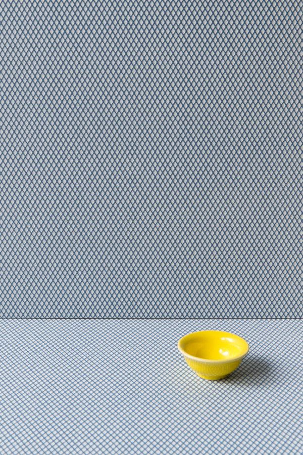 MODERN TILES BY RONAN & ERWAN BOUROULLEC FOR MUTINA:  Carré is the pattern of glazed porcelain stoneware with the small embossed diamonds on a matt surface. It comes in two versions: Uni, where color is evenly distributed throughout the whole slab, and Light, where color is used to underline the white diamond outlines.