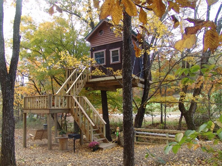 Stay in a tree house near shawnee national forest for Treehouse cabins aurora ny