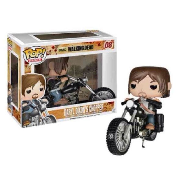 Limited Edition Daryl Dixon Chopper Funko Pop Funko Pop- Special Edition Walking Dead- Daryl Dixon Chopper Selling for cheaper than retail! New. Never Opened. Rare! Funko Pop Other