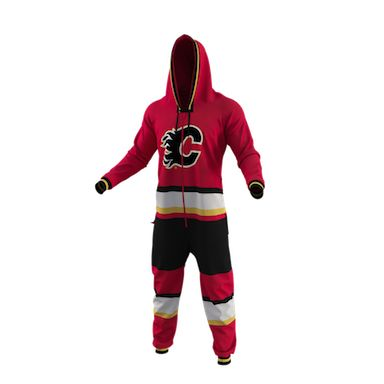 Calgary Flames Team Uniform Onesie