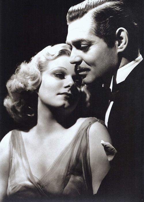 Jean Harlow and Clark Gable (Saratoga, 1937)