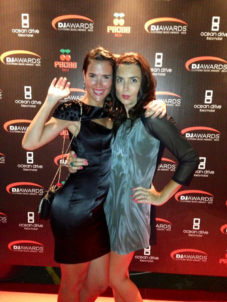 EMPO TV presenter Edurne Perez & and  DJ Sound Pionner presenter Mellisa  Sutton wearing Lez a Lez Ibiza :)