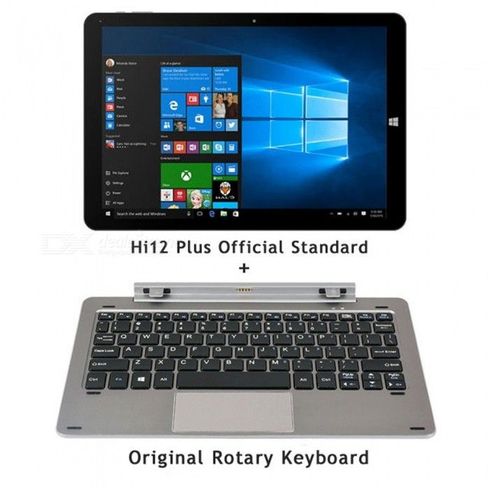 CHUWI Hi12 12 Inch Dual-system Tablet PC with Original Rotary Keyboard - Free Shipping - DealExtreme