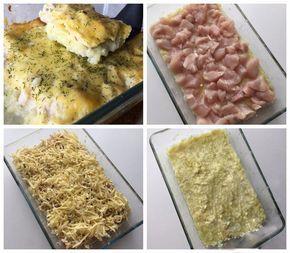 Caserolă delicioasă cu dovlecei și piept de pui - o rețetă bombă! O cină dietetică deosebit de delicioasă! - Bucatarul