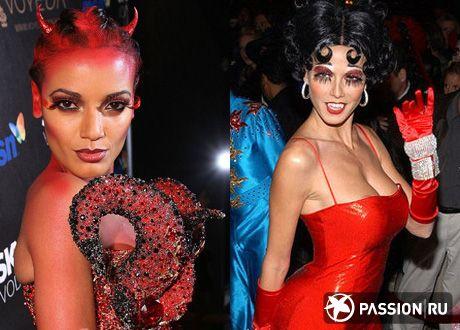 Идеи для Хэллоуина: макияж, прически, маникюр