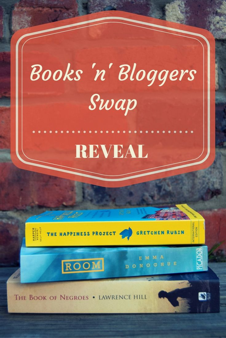 It's time for the big reveal – here are the books I received from the Books 'n' Bloggers Swap!