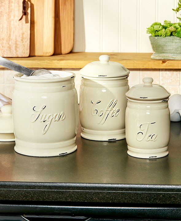 kitchen storage containers ceramic 9 best a canister set for every taste images on 6157