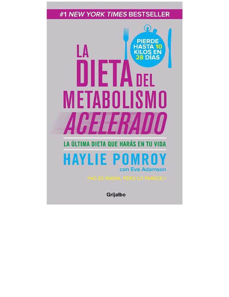 La dieta del metabolismo acelerado spanish edition por Rosa Soriano Gomez - issuu