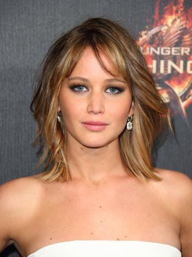 Fringe hair: Jennifer Lawrence - CosmopolitanUK