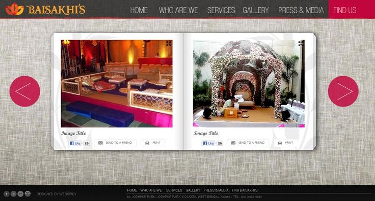 Gallery of Florist #website #webdesign #layout