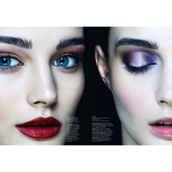 """SNC MAGAZINE Sibui Ekaterina in """"Wake Up for Make Up"""" by Photographer Nikolay Biryukov Image Amplified The Flash and Glam of All Things Pop Culture. From the Runway to the Red Carpet, High Fashion to Music, Movie Stars to Supermodels. found on Polyvore"""