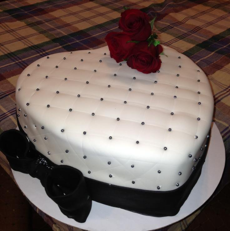 Heart Shaped Cake....