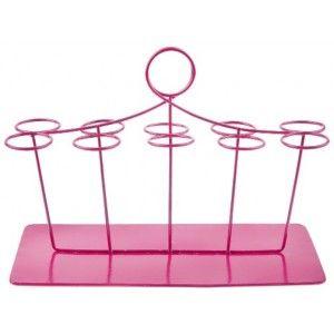 Présentoir Eprouvettes à dragées fushia rectangulaire 20 cm, portant et support pour 10 Eprouvettes à dragées. http://www.baiskadreams.com/3010-presentoir-eprouvettes-a-dragees-fushia-rectangulaire-20-cm.html