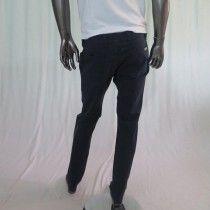 Pantalone uomo made in Italy con 5 tasche colore blu