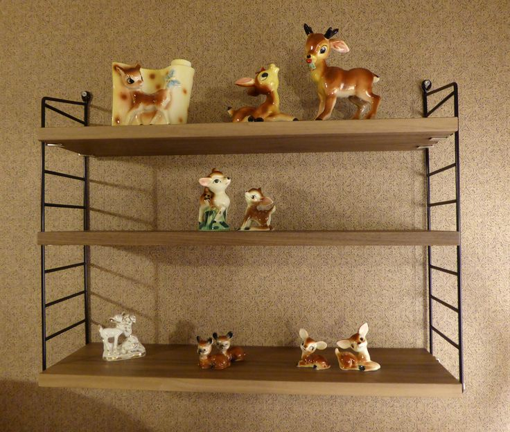 Bambi keräily on päässyt jo alkuvaiheeseen.. :D Hylly: String Pocket