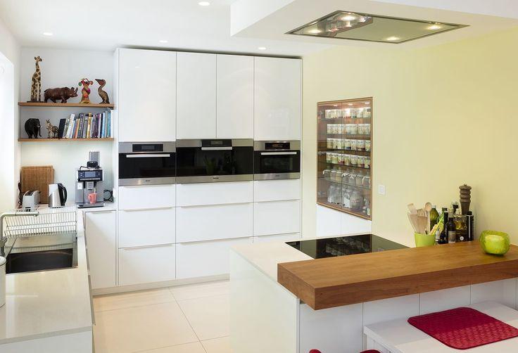 Küche Hochglanz weiss